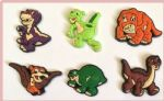 6 x Dinosaurs Charms